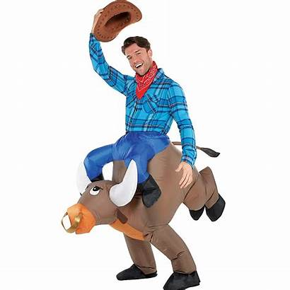 Bull Costume Ride Inflatable Adult Costumes Halloween