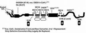 28 1998 Ford F150 Exhaust System Diagram