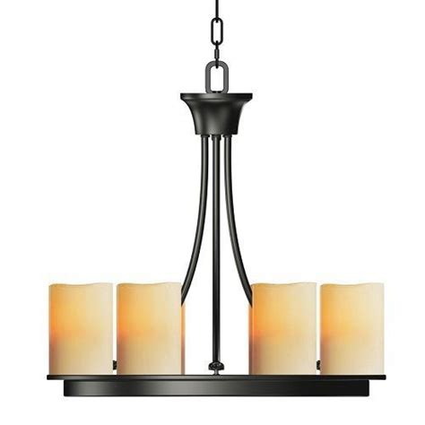 allen roth hartwick 6 light chandelier rubbed bronze