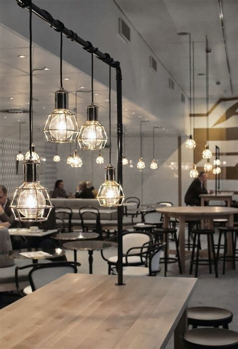 chandelier cafe 25 best ideas about cafe lighting on