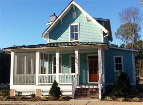 sugarberry cottage  houses built   popular plan
