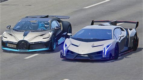 Lamborghini veneno vs ferrari 812 superfast. Supercars Gallery: Bugatti Divo Vs Lamborghini Aventador