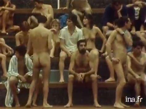 cfnm vintage ymca pool cumception