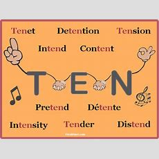 Get 'hold' Of A Perfect 'ten' Root Word  Vocab Tunes
