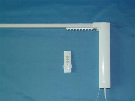 silent motorized curtain track smart home used motorized