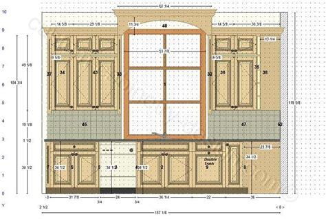 kitchen window wall cabinets design layout