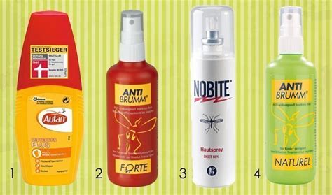 stiftung warentest mückenspray das hilft gegen m 252 ckenstiche m 252 ckensprays im test und hausmittel