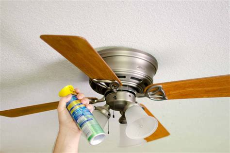 ceiling fan dust repellent how to keep your ceiling fans dust free with pictures ehow