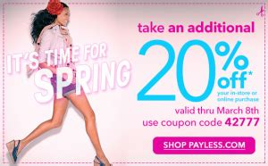 payless decor promotion code payless shoes printable coupons 20