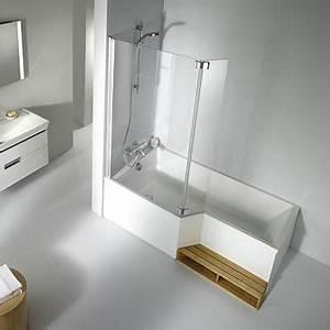 Baignoire Angle Douche : baignoire jacob delafon neo salle de bain bathroom bathtub et bathroom inspiration ~ Voncanada.com Idées de Décoration