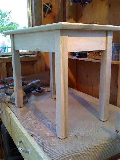 shaker style  table kreg jig owners community wood