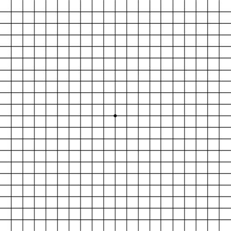 amsler grid eye test  detecting macular problems