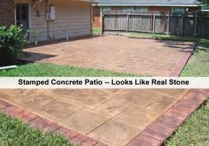 Cost Stained Concrete Patio