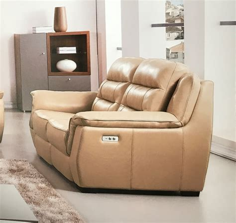 Loveseat Power Recliner by Lago Italian Leather Power Recliner Loveseat