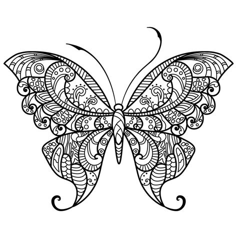 free butterfly coloring pages butterfly coloring pages colouring pages