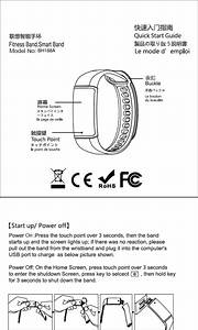 Mpow Technology Bh188a Fitness Band  Smart Band User Manual