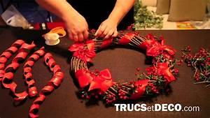 Faire Une Couronne De Noel : faire une couronne de no l tutoriel par ~ Preciouscoupons.com Idées de Décoration