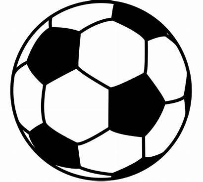 Soccer Ball Football Svg Clipart Soccerball Transparent