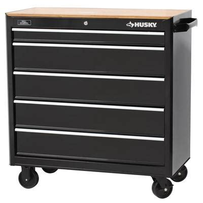 husky     drawer mobile workbench  solid wood