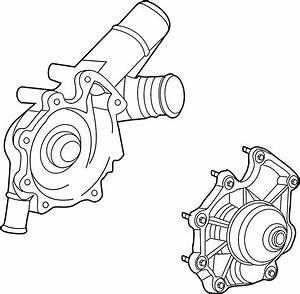 Lincoln Zephyr Engine Water Pump  Cooling  Make
