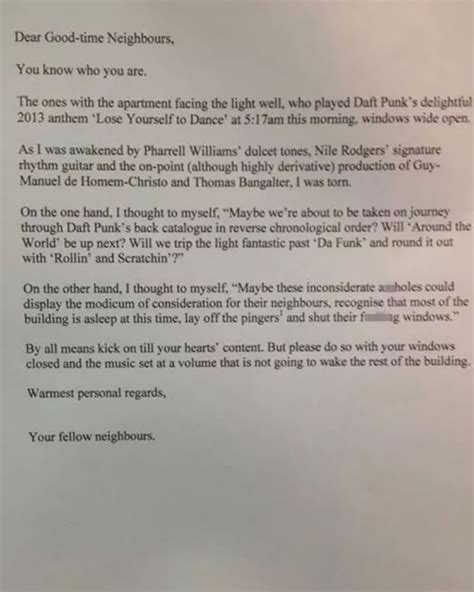 Hilarious Passive Aggressive Messages From Neighbors ...