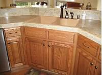 oak kitchen cabinets Stained Oak Kitchen Cabinets Ideas