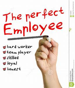 The perfect employee stock image. Image of hard, business ...