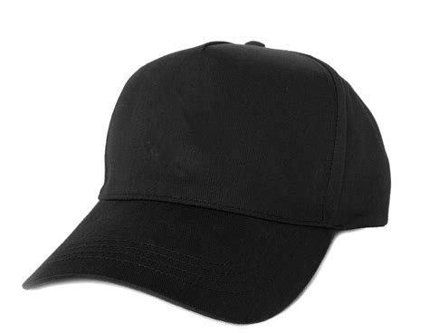 Plain Black Baseball Cap 1 Desktop Background
