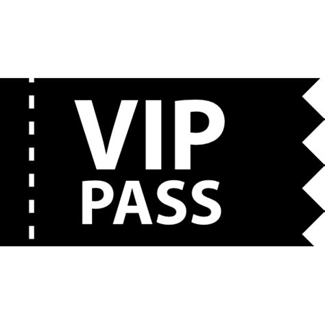 vip pass pass free icons