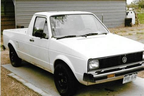 volkswagen rabbit diesel auto pickup truck  sale