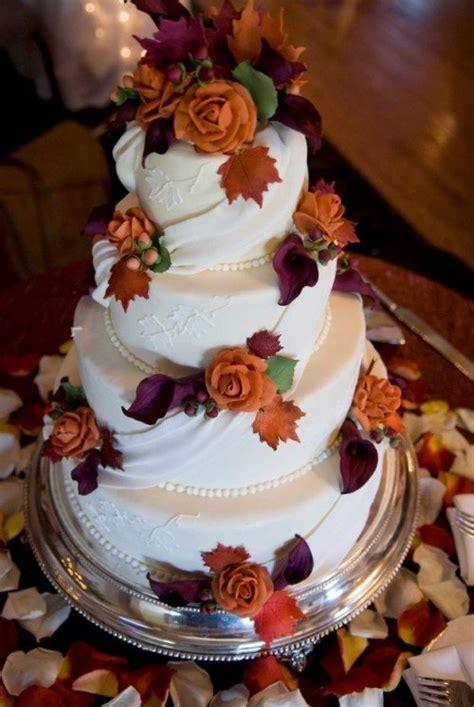 fall wedding cake ideas   love pretty designs