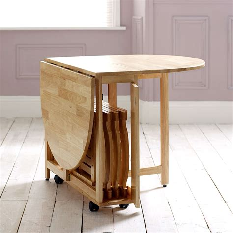 folding table for small spaces choose a folding dining table for a small space adorable