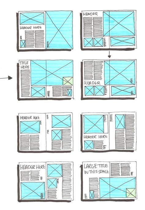 layout template magazine project week 6 daniellesdooodles