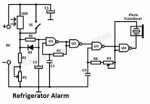 Refrigerator Alarm Circuit