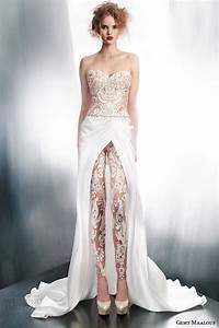 gemy maalouf 2015 wedding dresses part 1 wedding inspirasi With wedding dress pants