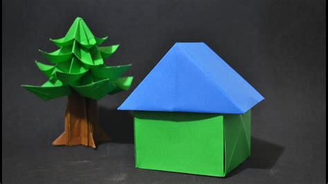 origami  house instructions  english br youtube