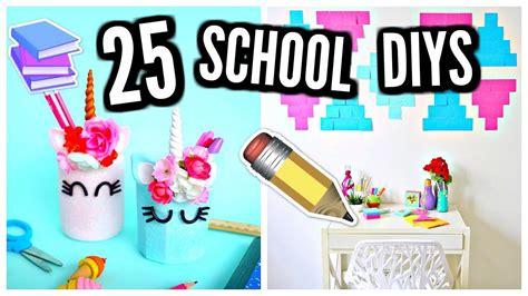 25 Diy School Supplies & Room Decor! 20172018, My Crafts