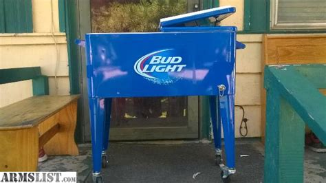 bud light chest armslist for trade collectible budlight standup