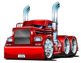 Diesel Truck Cartoon Drawings