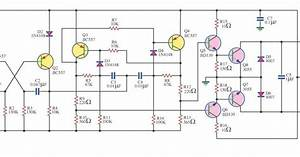 Simple 100w Inverter 12v To 220v Circuit Diagram
