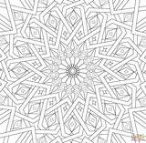 Coloring Mosaic Islamic Pages Traditional Main Printable Paper Drawing Games Skip sketch template