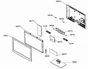 Samsung Model Ln32b550k1fxza Lcd Television Genuine Parts