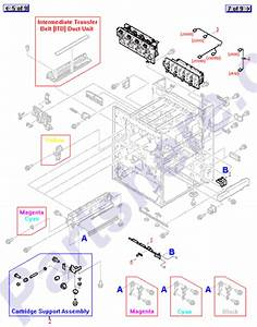 Toner Cartridge  Toner Cartridge Parts Diagram