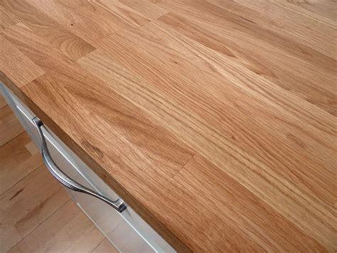 Arbeitsplatte / Küchenarbeitsplatte Massivholz Eiche Kgz 40/4100/650