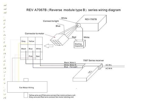 hton bay ceiling fan motor wiring diagram free hton bay reva7067b wire diagram