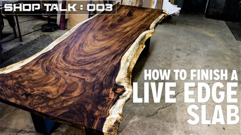 How To Finish A Live Edge Slab  Tips & Tricks  Youtube. Kitchen Design Surrey. Design Small Kitchen Layout. Kitchen Design Bristol. Kitchen Designer Tiles. Kitchen Design Tool Ikea. Kitchen Doors Design. Etched Glass Designs For Kitchen Cabinets. Kitchen Cabinets Online Design