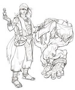Merchant Sketch
