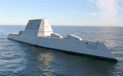 The Navy's Stealth Destroyer is a Giant Missile 'Carrier ...
