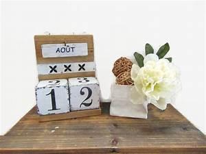 Fabriquer Un Calendrier Perpétuel : fabriquer un calendrier perp tuel en bois ~ Melissatoandfro.com Idées de Décoration
