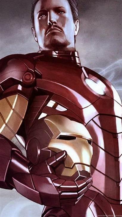 Iron Wallpapers Marvel Stark Tony Comics Cartoon